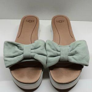 UGG Joan Platform Bow Sandals